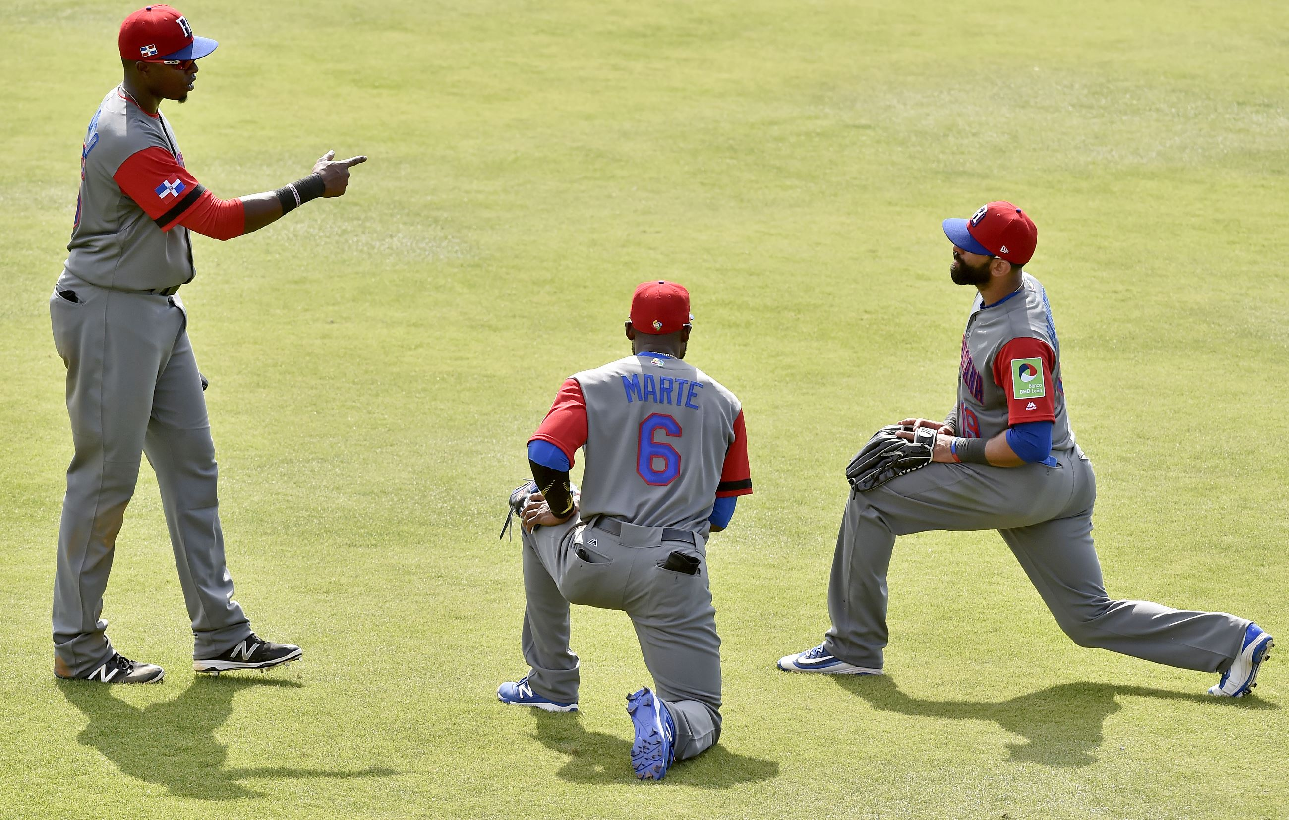 Starling Marte sits out WBC opener with minor ankle injury ...
