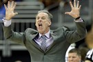 Head coach Jamie Dixon reacts during TCU's first-round game in the Big 12 tournament against Oklahoma on Wednesday.