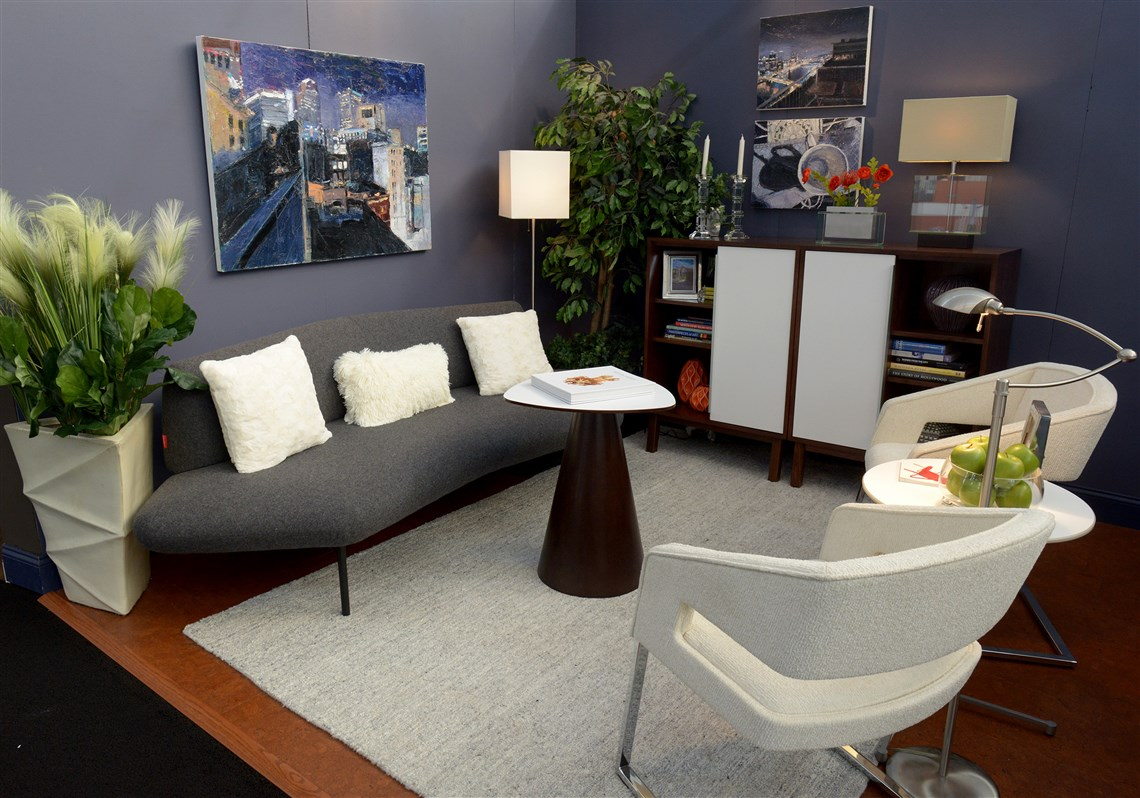Interior designers students showcase living spaces at Home Garden