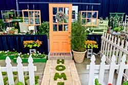 Bidwell Training Center's garden vignettes are a popular  attraction at the Duquesne Light Home & Garden Show at the David L. Lawrence Convention Center.