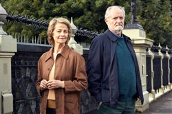 "In ""The Sense of an Ending,"" Jim Broadbent leads a reclusive and quiet existence until long buried secrets from his past force him to face the flawed recollections of his younger self, the truth about his first love, Charlotte Rampling, and the devastating consequences of decisions made a lifetime ago."