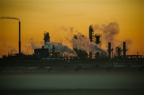 The Shell Chemicals Geismar plant at sunrise in Geismar, La.