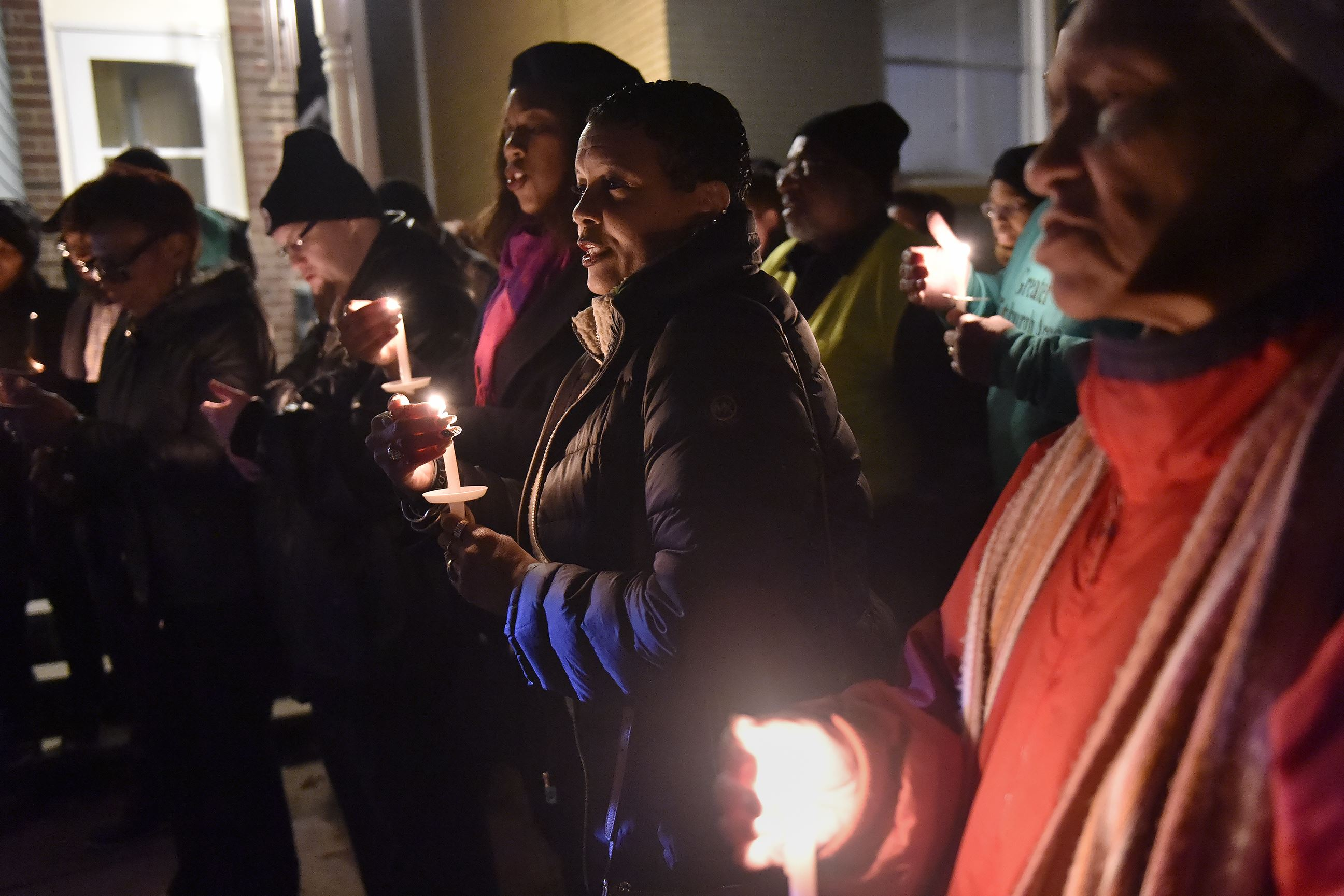 Candlelight Vigil Marks One Year Since Wilkinsburg