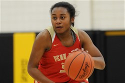 Desiree Oliver was a two-time Fabulous 5 selection as a guard at Penn Hills.