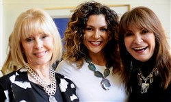 Renee Piatt Jewelry Party: From left, Joyce Oesterling, Renee Piatt and Cindy Engler