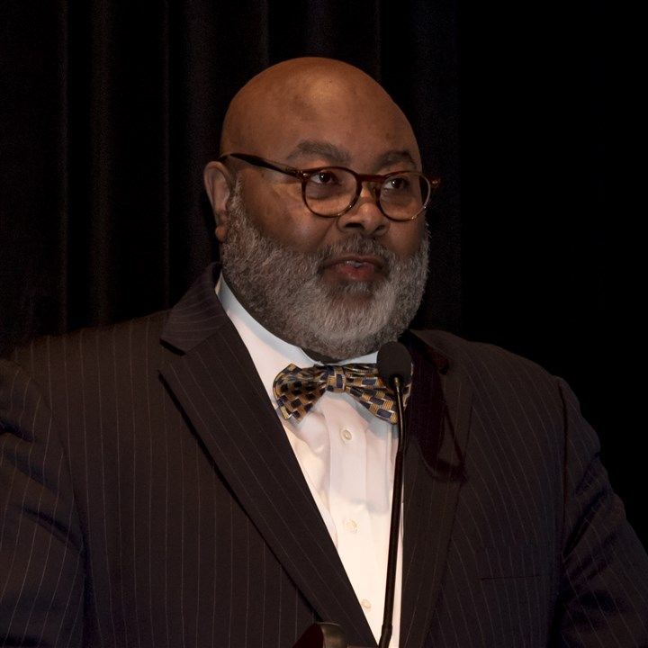 20170311jmbBlackHonors-11-1 Samuel E. Black, director of African American programs at the Heinz History Center.