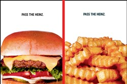 "Kraft Heinz Co., based in Pittsburgh and Chicago, said it will be launching a ""Pass the Heinz"" ad campaign first pitched by fictional ad man Don Draper in in the AMC television series ""Mad Men."" The company called Mr. Draper's idea ""timeless,"" a tongue-in-cheek reference to the fact that the concept came from a show set in the 1960s."