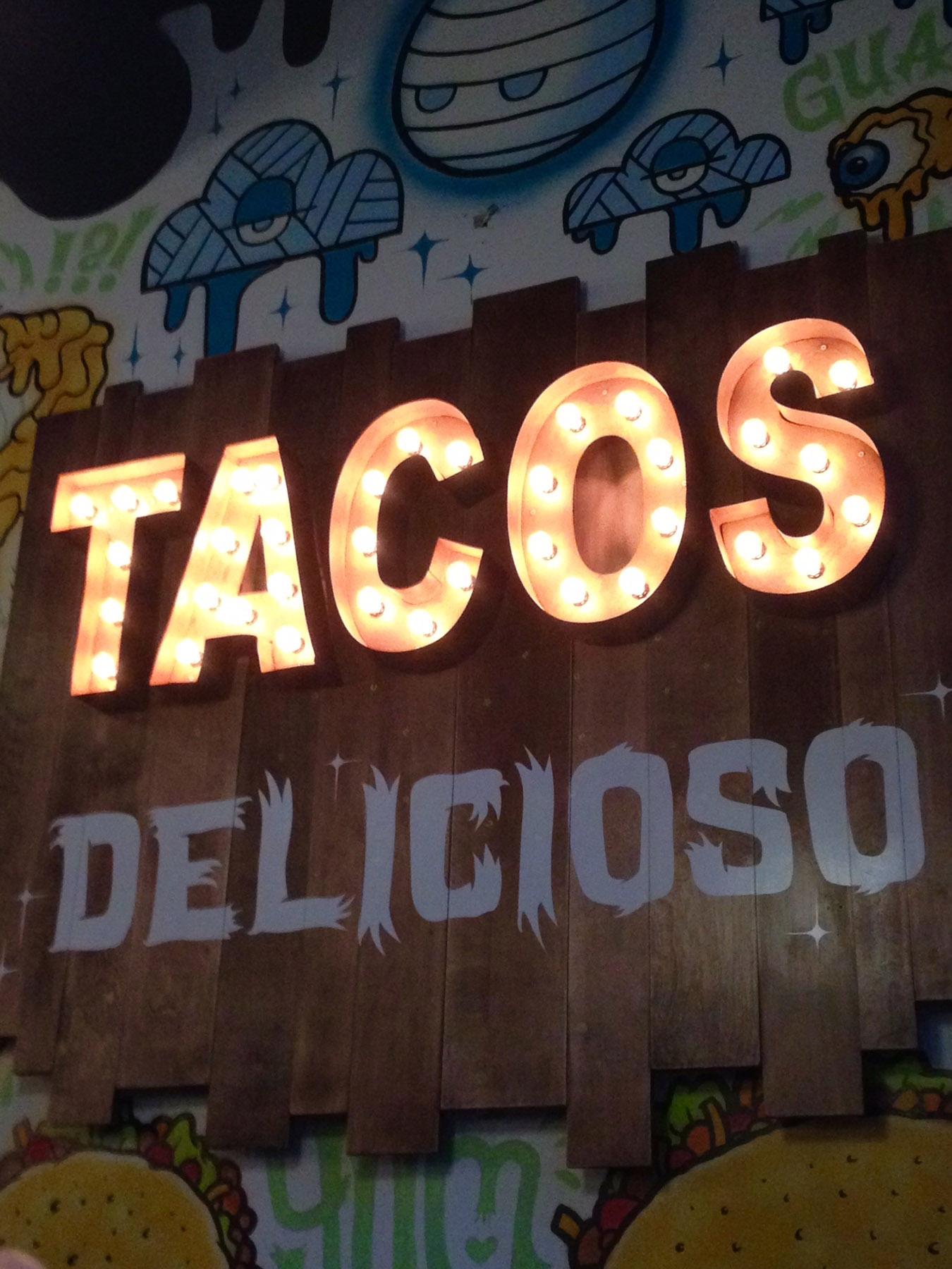 condado taqueria menu Menu items light the walls at the new Condado Taqueria.