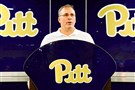 Pitt football coach Pat Narduzzi showed his enthusiasm with the latest recruiting commitment on Twitter Thursday night.
