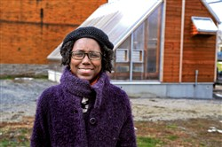Stephanie Boddie is co-leader of the Oasis Foods Demonstration Project, which is developing a solar-powered greehnouse and fishery on Fluery Way in Homewood.
