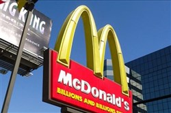 McDonald's said it is now offering fresh beef at its 325 restaurants in the Dallas area.