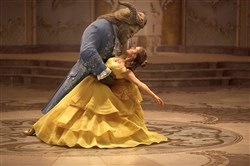 "Emma Watson stars as Belle and Dan Stevens as the Beast in Disney's ""Beauty and the Beast,"" a live-action adaptation of the studio's animated classic directed by Bill Condon.  The film will be screened in several city parks this weekend."