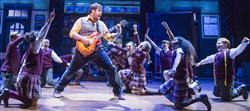 "A scene from the London production of ""School of Rock."" The U.S. tour production of the musical opens the 2017-18 PNC Broadway in Pittsburgh season Tuesday at the Benedum Center."