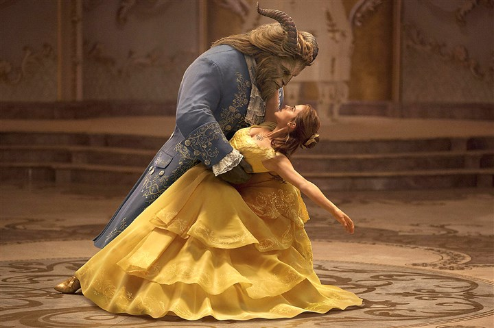 "BeautyBeast3 Emma Watson stars as Belle and Dan Stevens as the Beast in Disney's ""Beauty and the Beast,"" a live-action adaptation of the studio's animated classic."