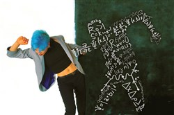 """The Invisible Jazz Labs"" series combines dance with music, chalk art, poetry and physics."