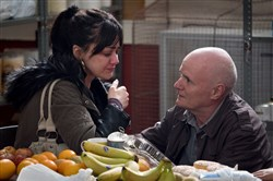 "Hayley Squires and Dave Johns star in ""I Daniel Blake."""