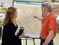 Residents attend a public meeting on the Mon-Fayette Expressway in August in West Mifflin.
