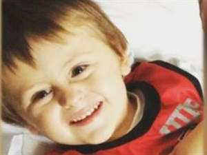Four-year-old Bentley Miller