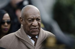 In this Dec. 13, 2016, file photo, Bill Cosby departs after a pretrial hearing in his sexual assault case at the Montgomery County Courthouse in Norristown, Pa.