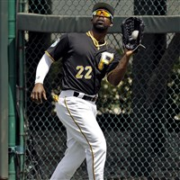 Pirates right fielder Andrew McCutchen homered in a win Monday against Minnesota.