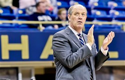 Pitt basketball head coach Kevin Stallings.