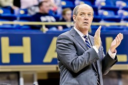 Pitt basketball coach Kevin Stallings is upbeat despite the roster upheaval which has beset his team since the end of the 2016-17 season.