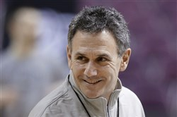 New Duquesne basketball coach Keith Dambrot got a vote of confidence from LeBron James.