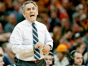 Keith Dambrot has coached at Akron since 2004-05 and went 305-139 with three NCAA Tournament appearances in that span.