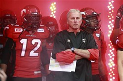 Former Calgary Stampeders coach and current general manager John Hufnagel, a former Penn State quarterback.