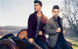 Dan + Shay featuring Carnegie Mellon University graduate  Dan Smyers, left, and Shay Mooney.