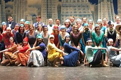 "The cast of West Allegheny High School's 2017 spring musical, ""Thoroughly Modern Millie."""