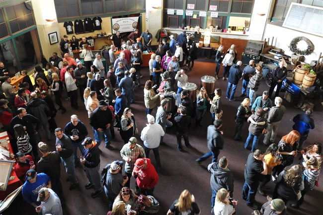 The Erie Micro Brew Festival takes place in the rotunda of The Brewery at Union Station.
