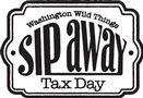 sip away tax day logo