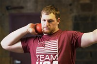 Jordan Geist, a graduate of Knoch High School, is one of the best shot putters in U.S. high school history.
