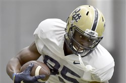 Pitt's Jester Weah has starred in the spring game before, as recently as last season.