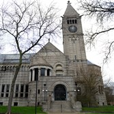 A new Allegheny Carnegie Library branch was built on Federal Street in Allegheny Center.