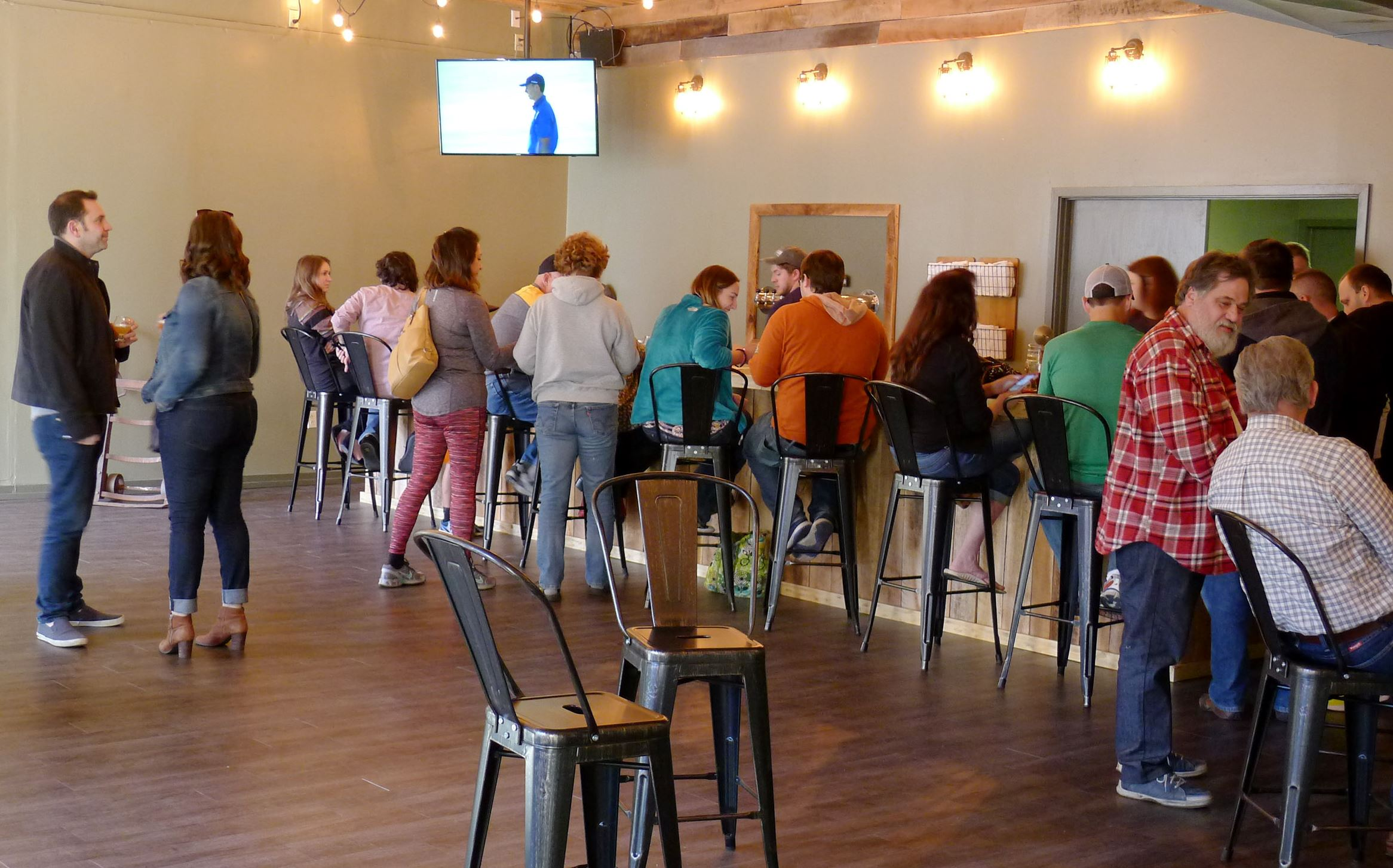 cobblehaus brewing company interior Cobblehaus Brewing Co. in Coraopolis will hold its grand opening on Friday, April 14.