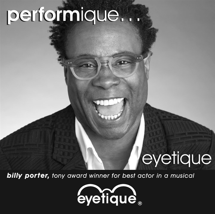 Eyetique ad featuring Billy Porter Eyetique ad featuring Billy Porter.
