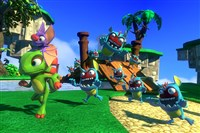 "There are five worlds that can be unlocked in the collectathon release ""Yooka-Laylee."""