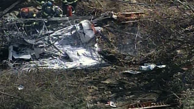 1 dead in small plane crash at western Pennsylvania airport