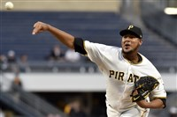 Ivan Nova faces his former team, the New York Yankees, on Sunday at PNC Park.