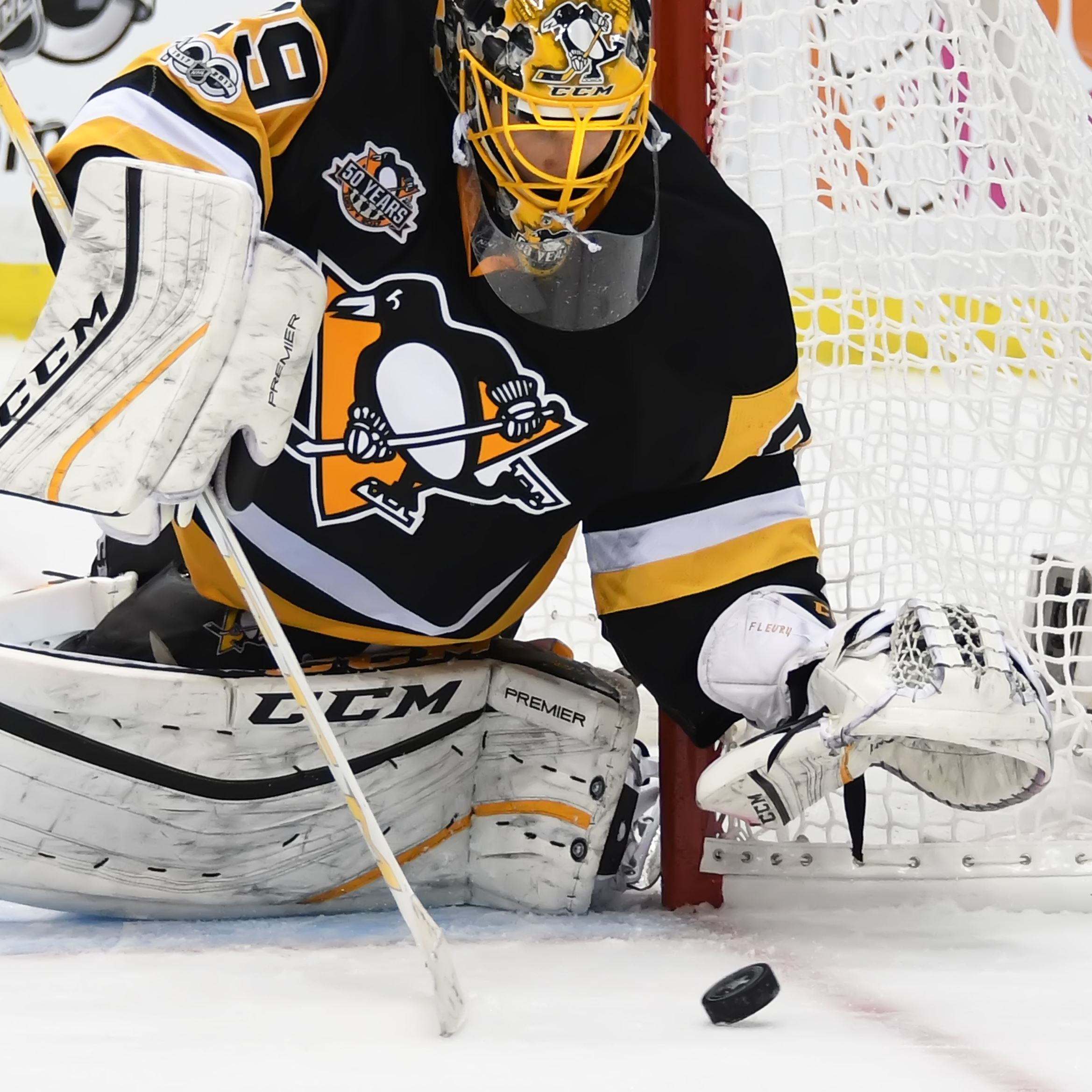 Fleury stonewalls Blue Jackets in relief