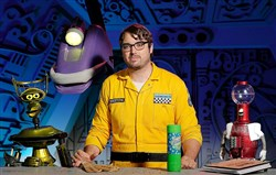 "Jonah Ray is the new host of the Netflix reboot of ""Mystery Science Theater 3000."""