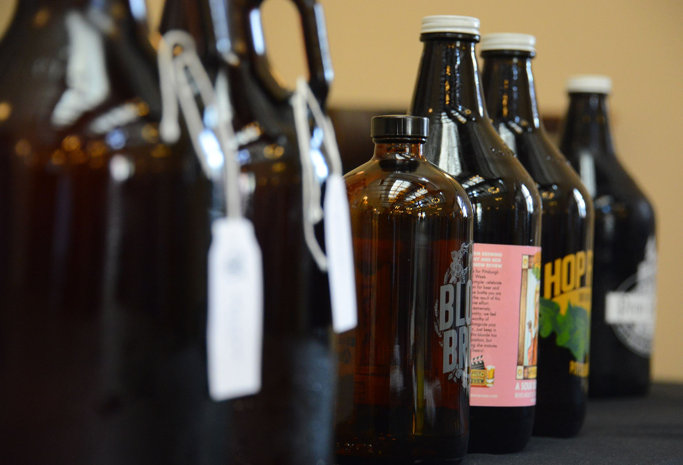 20170415lf-Brew03-3 A total of 18 breweries are participating in the sixth year for Pittsburgh Craft Beer Week, a celebration of the local industry at venues across the city and region that runs April 21-30.