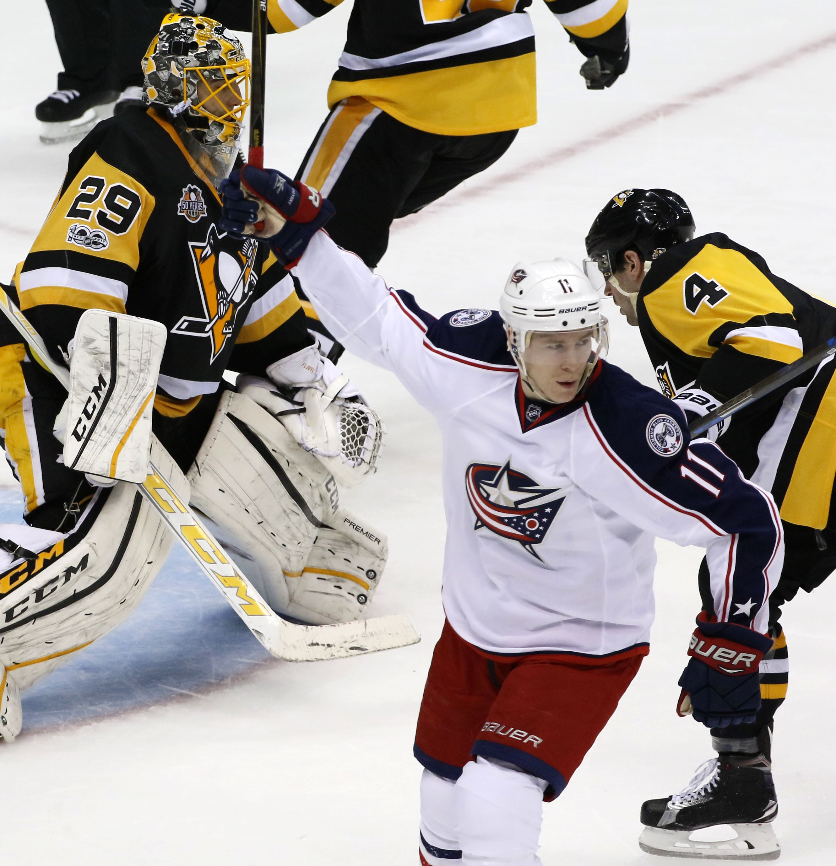 Blue Jackets, Wild in danger of being swept out of playoffs