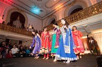 A colorful fashion show is one of the highlights of the annual Pittsburgh South Asian Bridal Show.