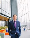 Patrick Finegan, director of operations for PNC Realty Services, is in charge of making sure all of the state-of-the-art green features in the Tower at PNC Plaza are running properly.