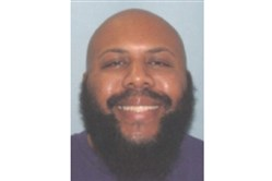 This undated photo provided by the Cleveland Police shows Steve Stephens. Cleveland police were searching for Stephens, a homicide suspect, who recorded himself shooting another man and then posed the video on Facebook on Sunday, April 16, 2017.