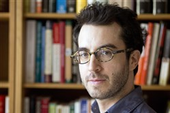 Author Jonathan Safran Foer will appear at Carnegie Library Lecture Hall on Friday.