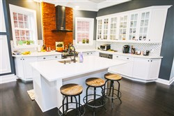 The kitchen of a former market turned into a home in Highland Park. The project was a runner-up in the 2016-17 Renovation Inspiration Contest.